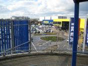 Wembley, IKEA home furnishings store - geograph.org.uk - 726017