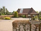 English: Boundaries Surgery, Winchester Road Also offering physiotherapy and cognitive therapy. See http://www.boundaries-surgery.com/ .