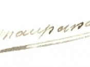 English: Signature of Guy De Maupassant Français : Signature de Guy De Maupassant