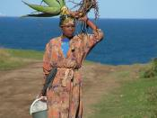 Mpondo woman in South Africa