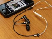DIY: Shure Sound Isolating Earphone + iPhone 4 Earphone