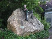 English: Oscar Wilde memorial, Dublin, Ireland.