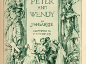 Title page of Peter and Wendy