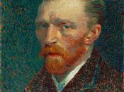Self-Portrait, Spring 1887, Oil on pasteboard, 42 × 33.7 cm., Art Institute of Chicago (F 345).