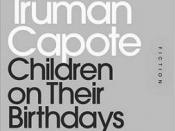 Children on Their Birthdays (short story)