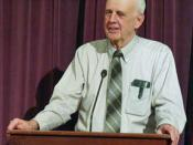 Wendell Berry speaking in Frankfort, Indiana