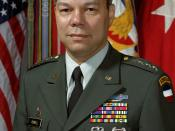 English: GEN Colin Powell, FORSCOM Commander