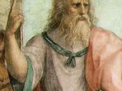 English: The School of Athens (detail). Fresco, Stanza della Segnatura, Palazzi Pontifici, Vatican.