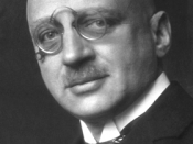 Chemist Fritz Haber