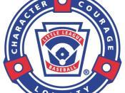 Junior, Senior & Big League Baseball