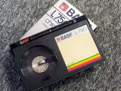 The case centered around Sony's manufacture of the Betamax VCR, which used cassettes like this to store potentially copyrighted information