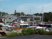 English: Harbor at Kennebunkport, Maine, USA
