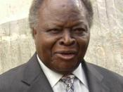 Kenyan President Mwai Kibaki at the 8th EAC summit in Arusha.