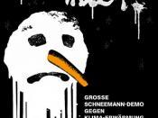 Einladung zur Schneemann-Demo