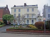 English: Beech House, residential care home The house stands in Magdalen Road, Exeter. The home provides residential and nursing care for the elderly, and has 23 residential places.