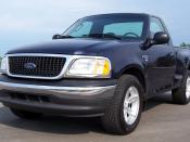 English: 2003 Ford F-150 (front view)