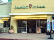 English: A Jamba Juice smoothie store in Santa Clara.
