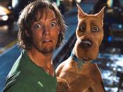 Matthew Lillard as Shaggy in Scooby-Doo.