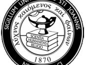 St. John's University seal