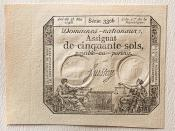 French Revolution Assignat - 1793
