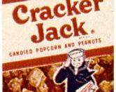 A picture of an old Cracker Jack box