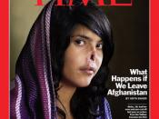 Aisha on the cover of Time