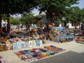 The souk (market) in Houmt Souk, Djerba.
