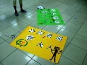 Chinese language posters for Citizen Journalism Unconference