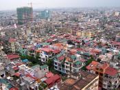 Blick auf Hanoi