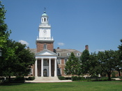 English: Gilman Hall, Johns Hopkins University, Baltimore, Maryland, USA.