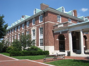 English: Mergenthaler Hall, Johns Hopkins University, Baltimore, Maryland, USA.