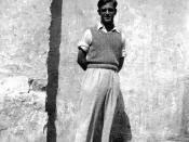 Maroc, Casablanca, octobre 1945, Georges Menjoulet, 16 ans