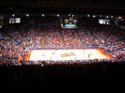 English: Dayton Flyers vs. Akron Zips at University of Dayton Arena