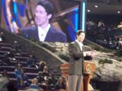 English: Joel Osteen at Lakewood Church, Houston, Texas