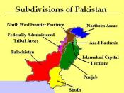 The subdivisions of Pakistan