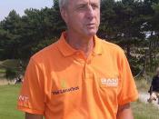 Deutsch: Johann Cruyff, niederländischer Fußballspieler