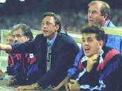 English: Johan Cruyff with Barcelona