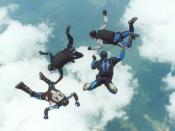 Skydiving - US military