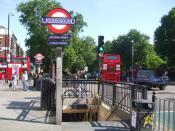 English: Bethnal Green tube station southwestern entrance