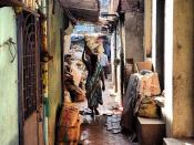 Daily life in the slum - Dharavi - Mumbai
