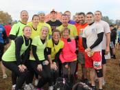 District employees complete Tough Mudder together to raise funds for Wounded Warriors