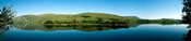 Panorama of Glenveagh National Park