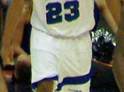English: Derrick Rose in the 2008 Final Four game against UCLA.