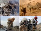 English: Montage of the War on Terror. Svenska: Montage av kriget mot terrorismen.
