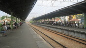 English: Bekasi Train Station, Bekasi, West Java, Indonesia Bahasa Indonesia: Stasiun Kereta Bekasi, Kota Bekasi, Jawa Barat, Indonesia