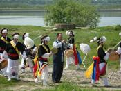 Nongak performace, farmer's dance