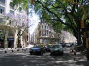 Español: Avenida Santa Fe y Marcelo T. de Alvear, Retiro, Buenos Aires, Argentina.