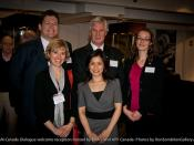 ASEAN-Canada Dialogue welcome reception at the Bill Reid Gallery  hosted by DFAIT-Foreign Affairs and International Trade Canada and Asia Pacific Foundation of  Canada- Photos by Ron Sombilon Gallery-81