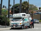 Redondo Beach Jesus Man with Van