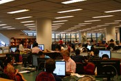 English: The library of Hong Kong University of Science & Technology